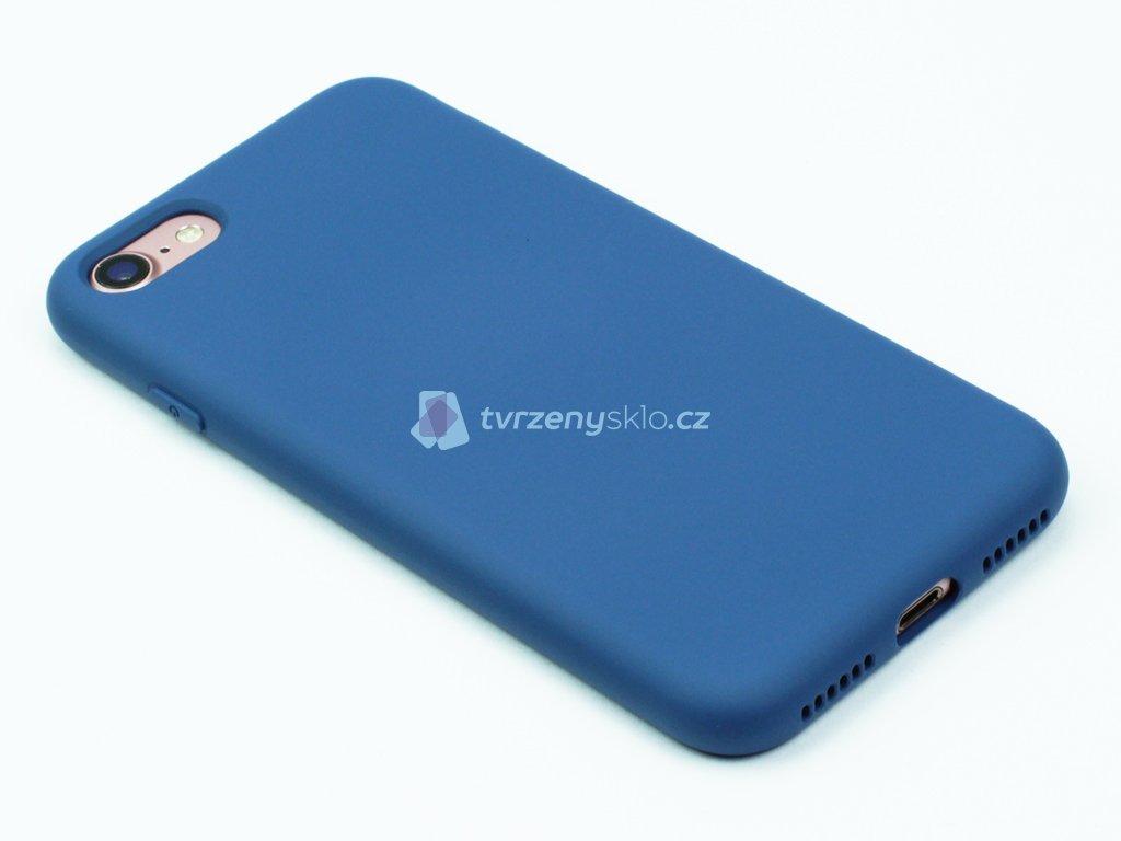 Silikonový kryt na iPhone 7,8 Modrý