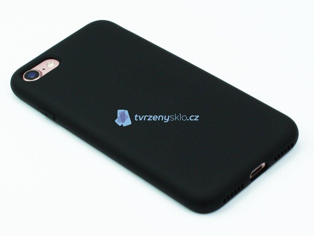 Silikonový kryt na iPhone 7,8 Černý
