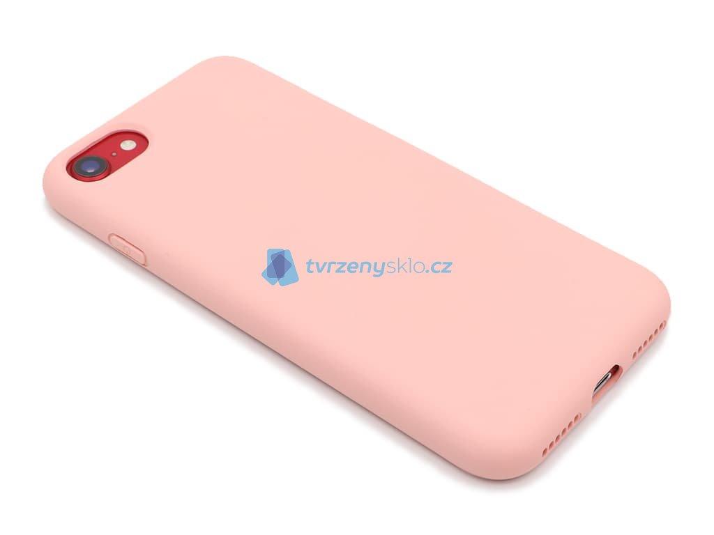 Silikonový obal na iPhone 7,8,SE 2020 Růžový 1