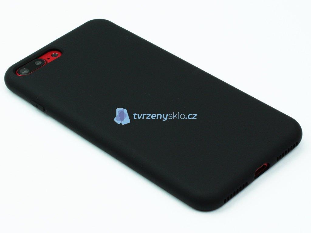 Silikonový kryt na iPhone 7,8 PLUS Černý
