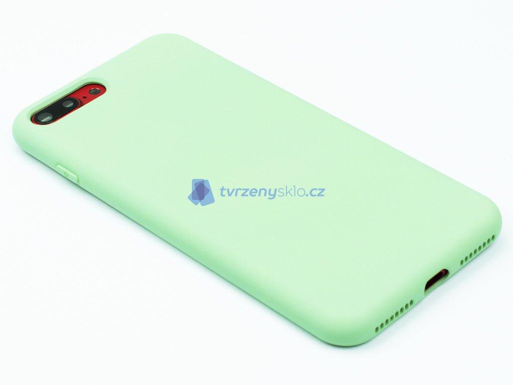 Silikonový kryt na iPhone 7,8 PLUS Zelený