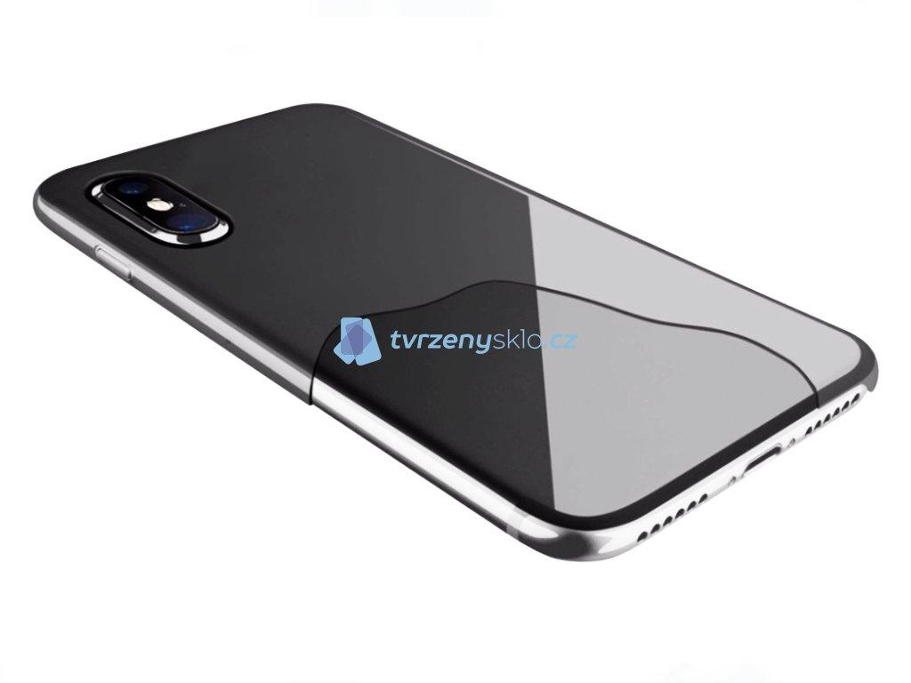 Ultratenký zadní kryt CellularLine ZERO pro iPhone X, iPhone XS Čirý