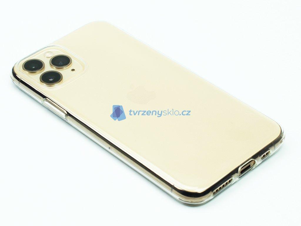 Gumový obal na iPhone 11 Pro Průhledný 1