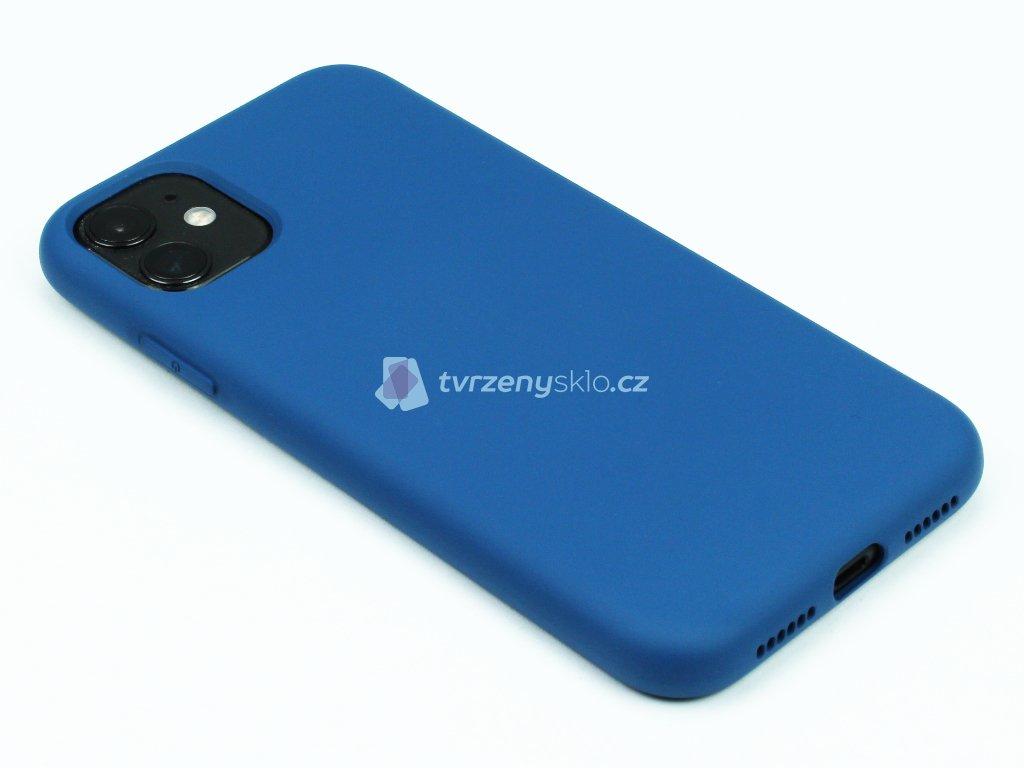 Silikonový kryt na iPhone 11 Modrý 1