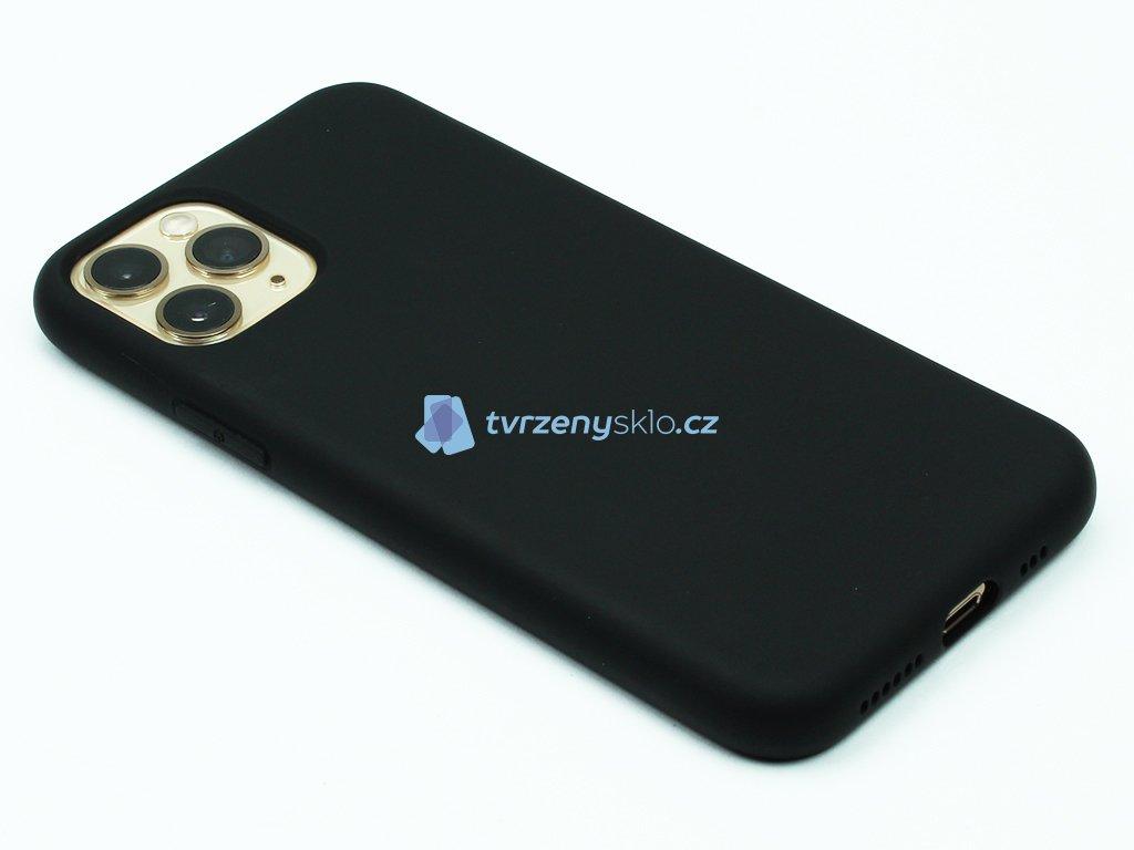 Silikonový kryt na iPhone 11 Pro Černý 1