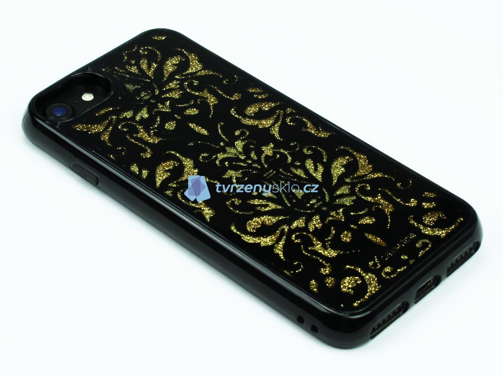 Gelové pouzdro Stardust pro iPhone 7,8 Damašek 1