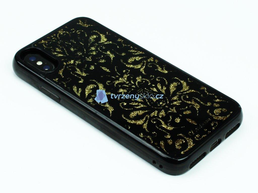 Gelové pouzdro Stardust pro iPhone X,XS Damašek 1