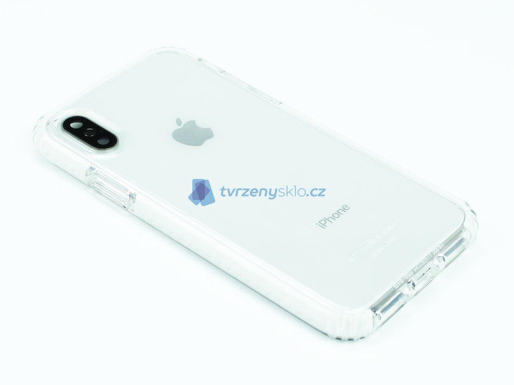 Tetra Force Shock Twist odolný obal na iPhone X,XS Průhledný 1