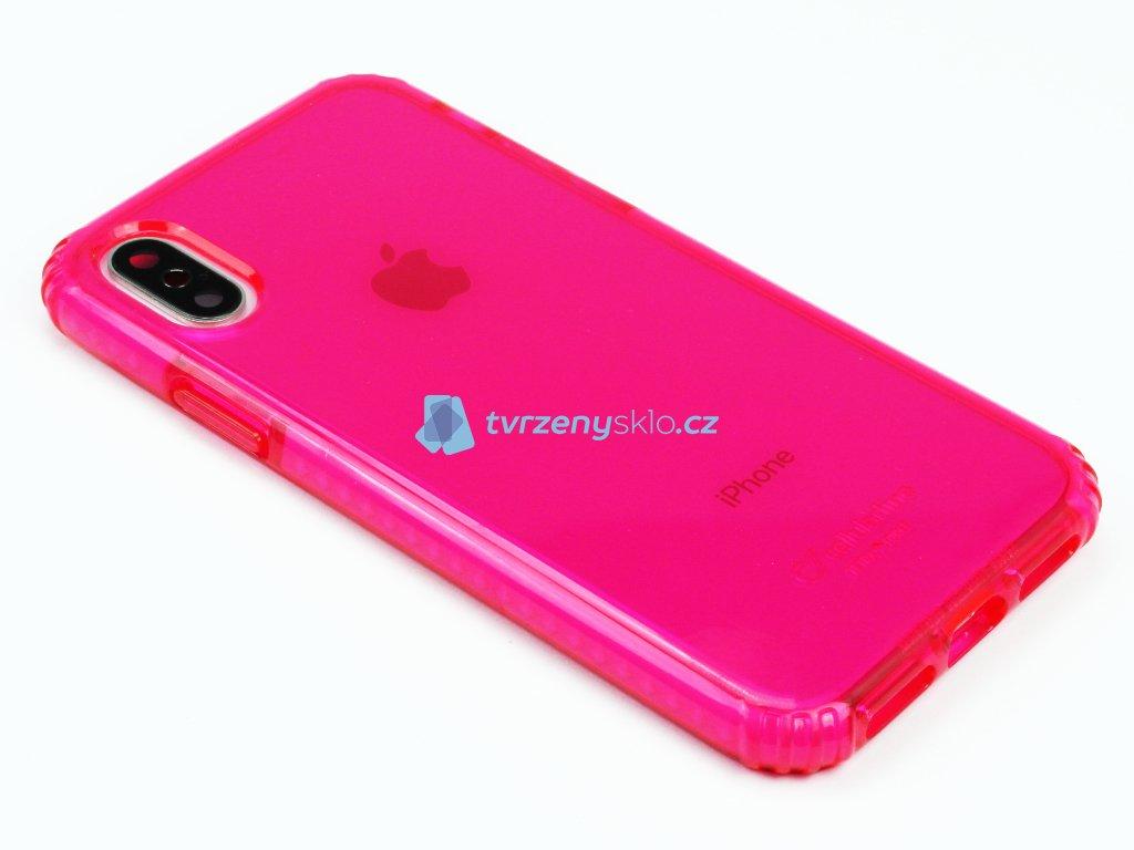 Tetra Force Shock Twist odolný obal na iPhone X,XS Růžový 1