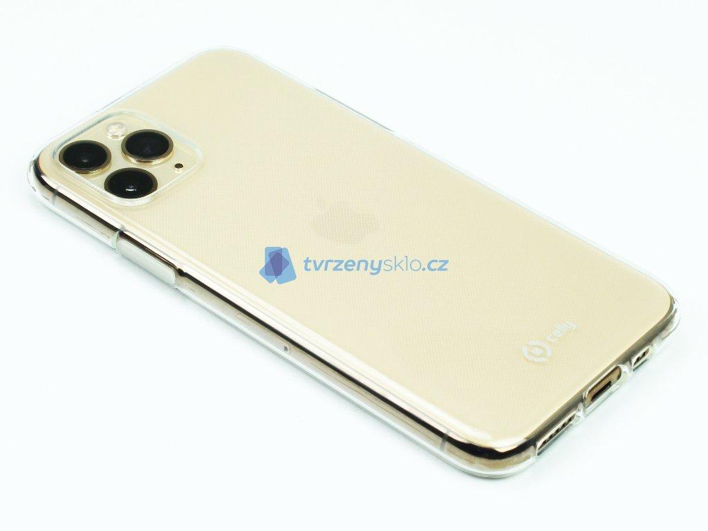 Pouzdro CELLY Gelskin pro Apple iPhone 11 Pro Průhledné 1