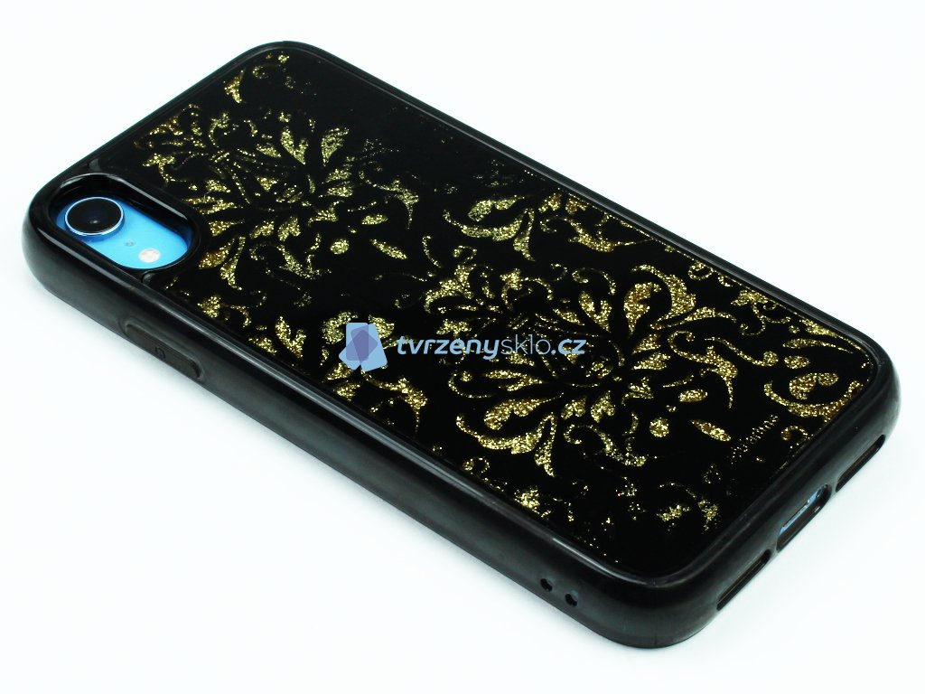 Gelové pouzdro Stardust pro iPhone XR Damašek 1