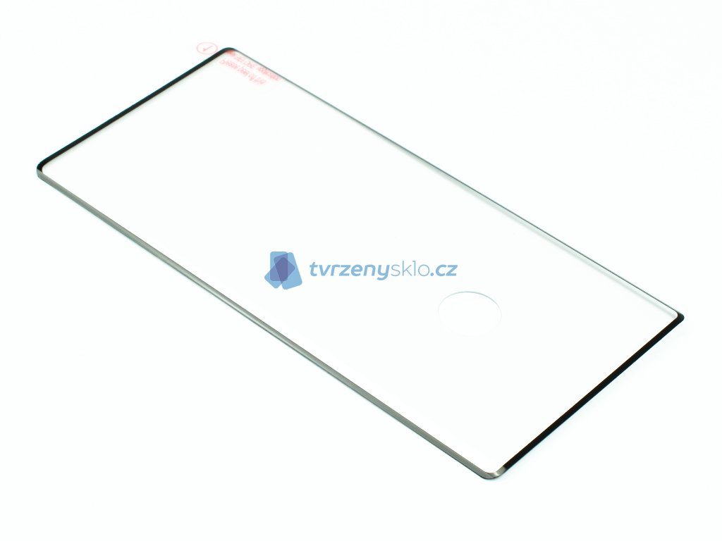 3D Tvrzené sklo pro Samsung Galaxy Note 10 PREMIUM Černé Celopodlepené! 1