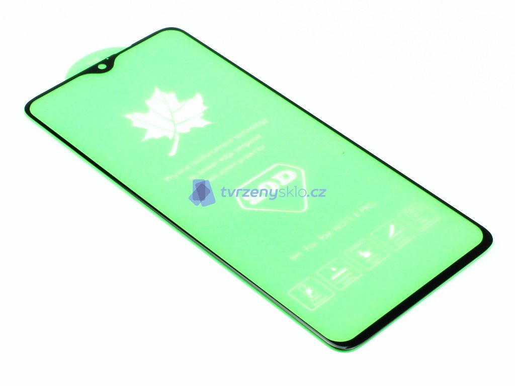 3D Tvrzené sklo PREMIUM Xiaomi Redmi Note 8 Pro Černé 1