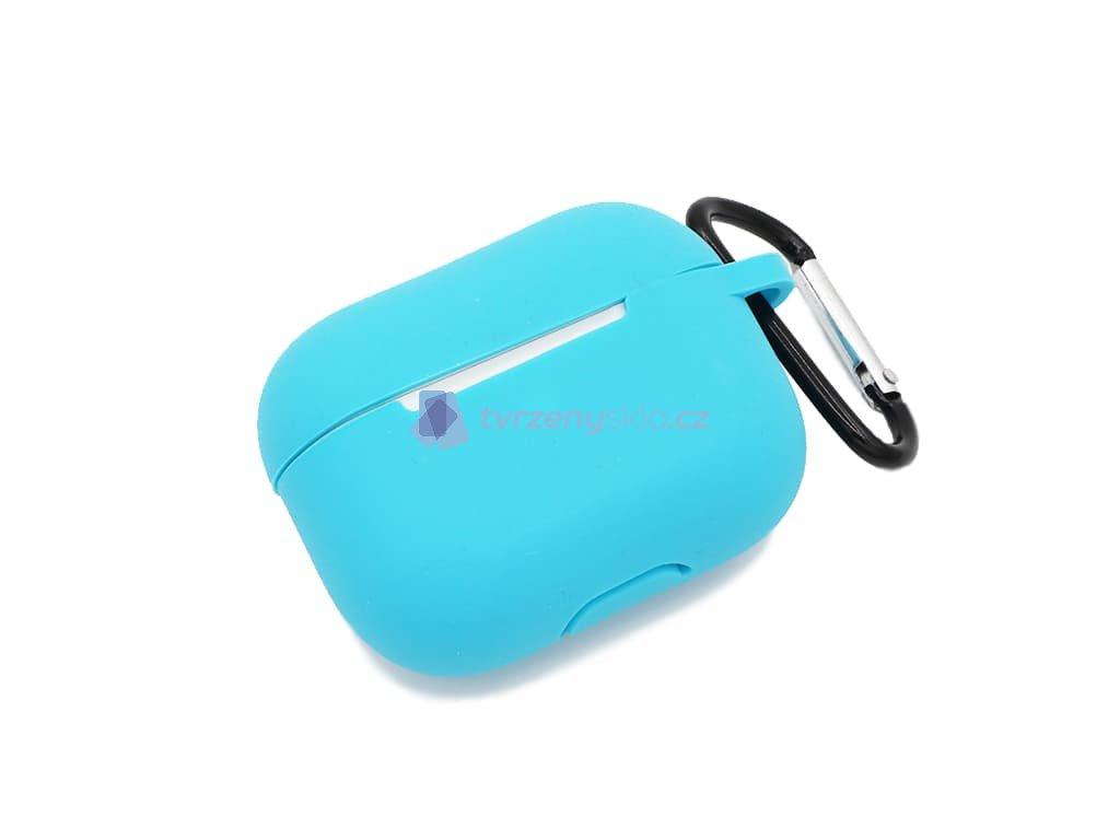 Gumové pouzdro pro AirPods Pro Světle modrý 1