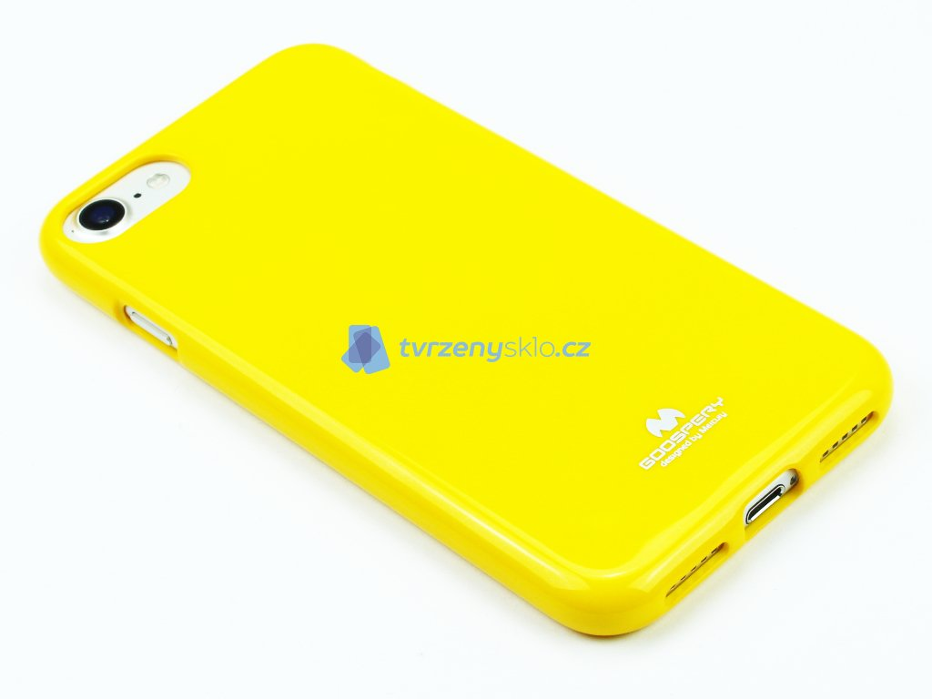 Jelly, Mercury kryt na iPhone 7,8 Žlutý 1