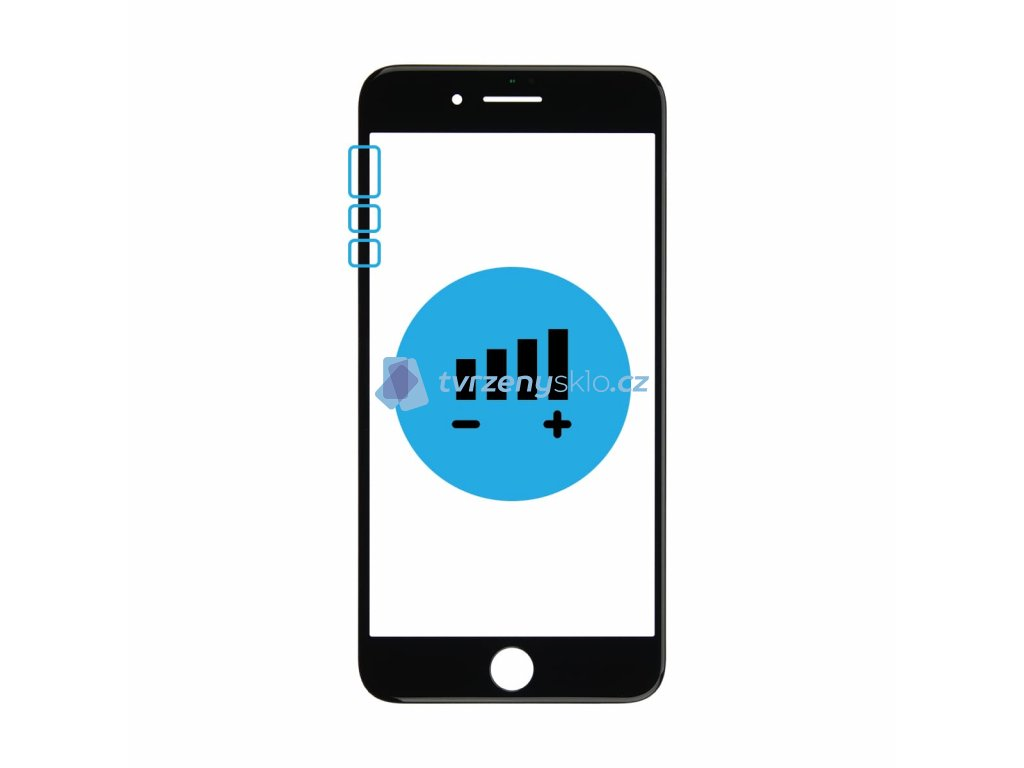 Výměna tlačítek hlasitosti a vibrací iPhone XR