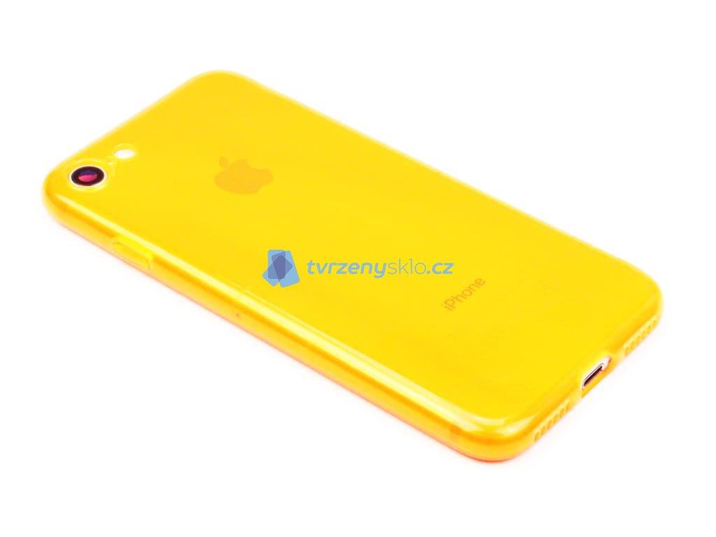 Fluorescentní obal na iPhone 7,8, SE 2020 Oranžový 1