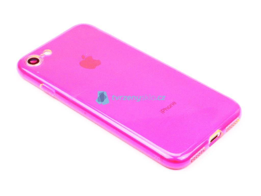 Fluorescentní obal na iPhone 7,8, SE 2020 Růžový 1