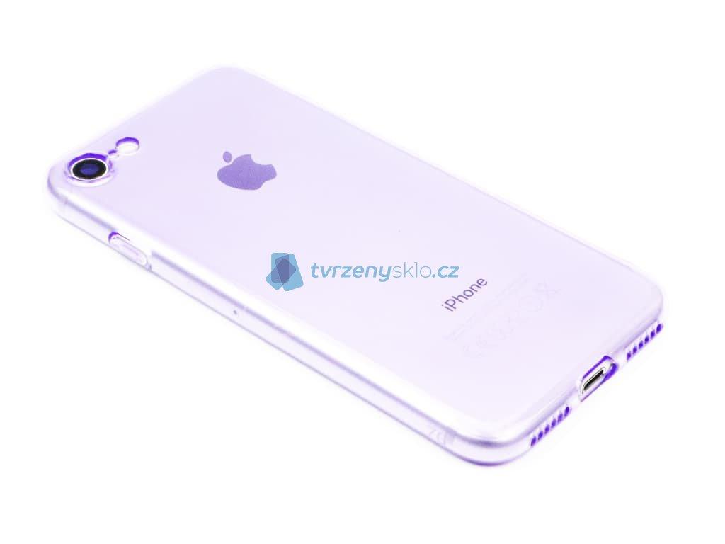 Fluorescentní obal na iPhone 7,8, SE 2020 Fialový 1