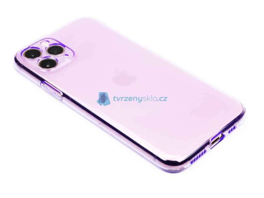 Fluorescentní obal na iPhone 11 Pro Fialový 1