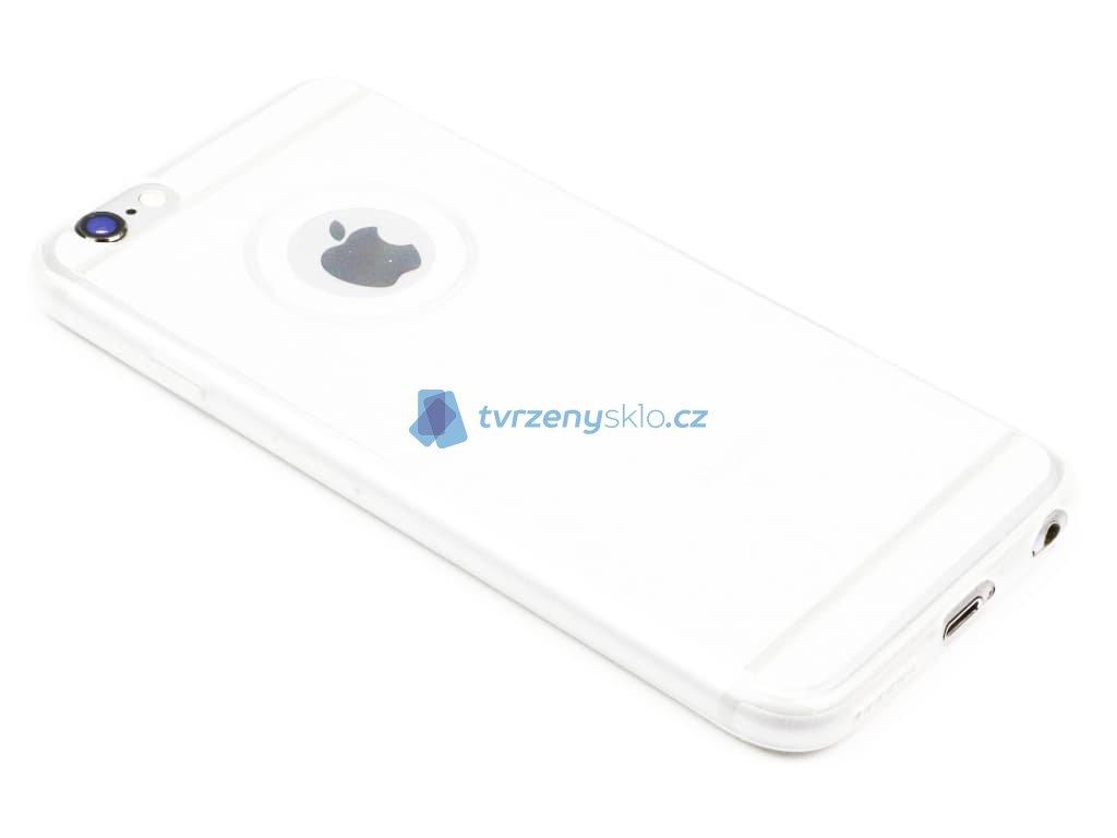 Třpytkový obal iPhone 6,6s Stříbrný 1