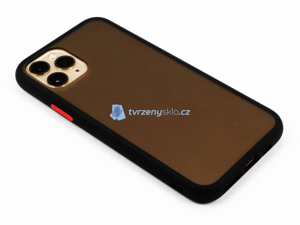 Pevný, gumový obal na iPhone 11 Pro Černý 1