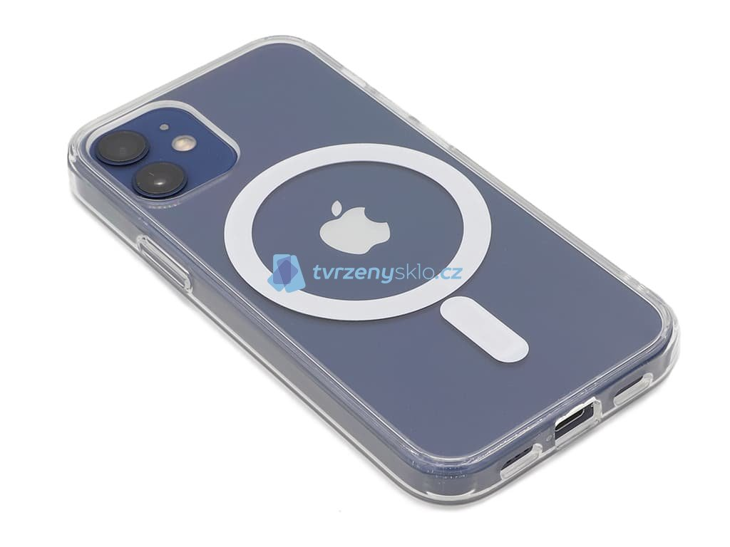 Průhledný kryt na iPhone 12 Mini s MagSafe 1