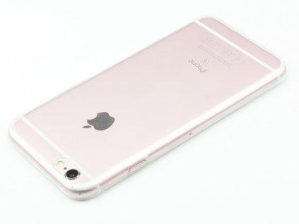 Gumový Tenký Průhledný kryt iPhone 6