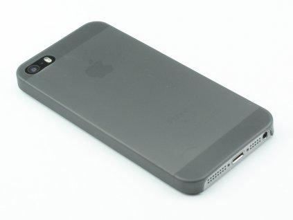 Tenký Plastový kryt na iPhone 5,5s,SE Černý
