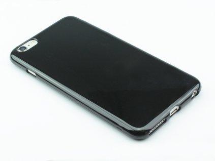 Pevný Gumový kryt pro iPhone 6 Plus, iPhone 6s Plus Černý