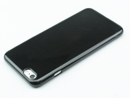 Pevný Gumový kryt pro iPhone 6,6s Černý