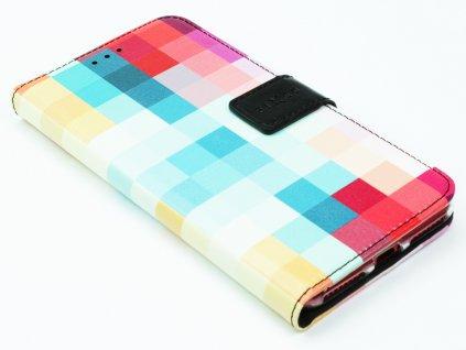 Pouzdro typu kniha FIXED Opus pro Apple iPhone 7, 8 Plus motiv Dice 3