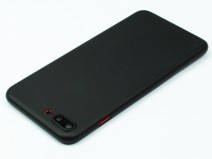 Ultratenký, Plastový, Pevný kryt na iPhone 7, iPhone 8 Plus Černý