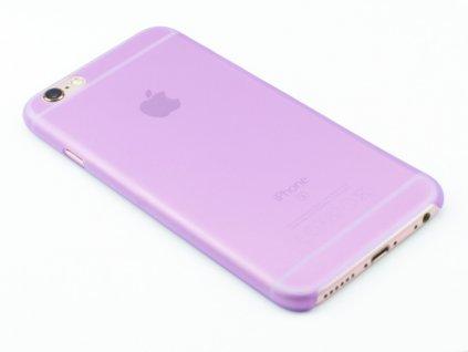 Tenký plastový kryt pro iPhone 6, iPhone 6s Fialový