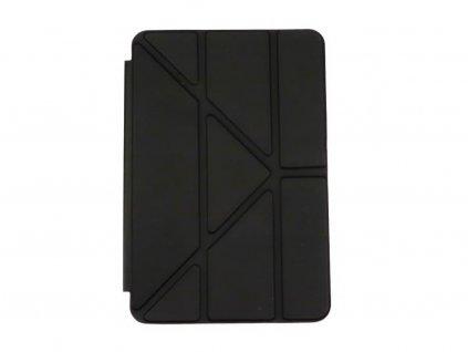 Zavírací obal na přední i zadní část z TPU kůže pro iPad Mini 4 Černý