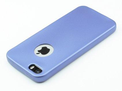 Gumový obal pro iPhone 5,5s,SE Modrý