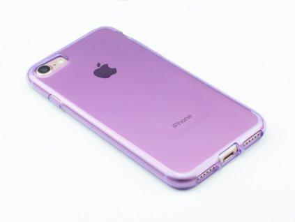Pevný, Gumový ochranný kryt na iPhone 7, iPhone 8 Fialový