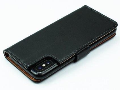 Pouzdro typu kniha CELLY pro Apple iPhone X, černé