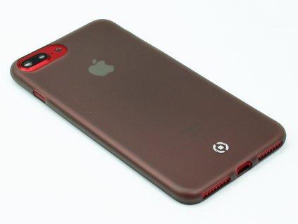 Ultra tenké TPU pouzdro CELLY Frost pro Apple iPhone 7 Plus,8 Plus, 0,29 mm, černé