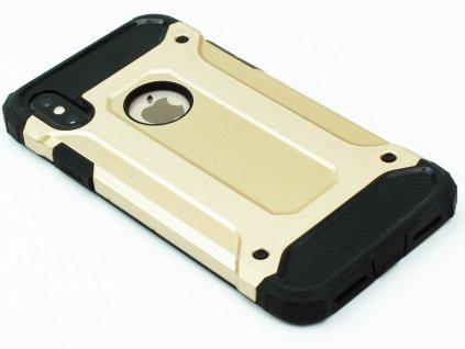 Vysoce odolný kryt pro iPhone X,XS Zlatý