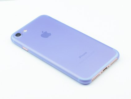 Ultratenký, Plastový, Pevný kryt na iPhone 7, iPhone 8 Modrý