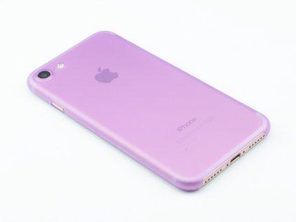 Ultratenký, Plastový, Pevný kryt na iPhone 7, iPhone 8 Fialový