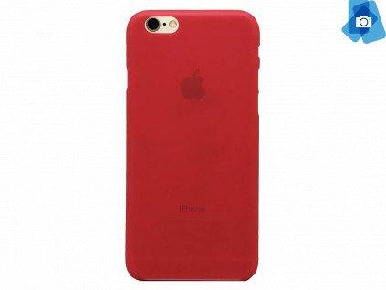 Tenký plastový kryt pro iPhone 6, iPhone 6s Červený