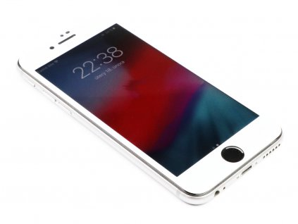 3D tvrzené sklo pro iPhone 6/6S (Premium) - Bílé