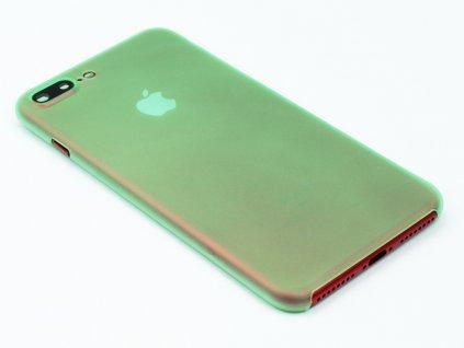 Tenký Plastový kryt pro iPhone 7 Plus, iPhone 8 Plus Zelený