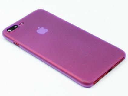 Tenký Plastový kryt pro iPhone 7 Plus, iPhone 8 Plus Fialový