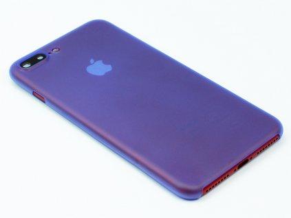 Tenký Plastový kryt pro iPhone 7 Plus, iPhone 8 Plus Modrý