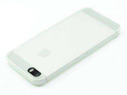 Gumový kryt pro iPhone 5,5s,SE Bílý