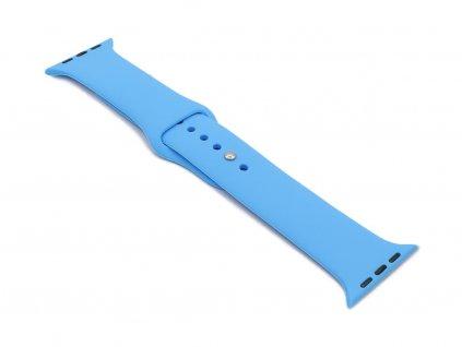 Silikonový řemínek na Apple Watch Modrý