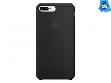 Silikonový kryt na Apple iPhone 7+,8+ Černý
